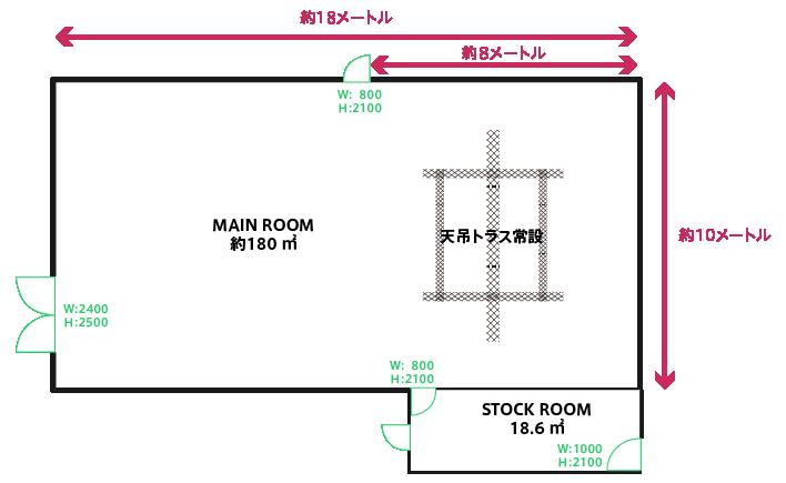 スタジオ簡易図