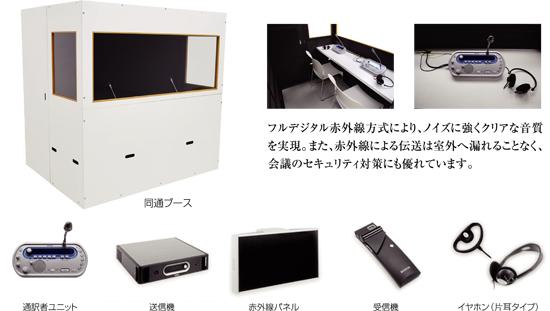 BOSCH デジタル赤外線 同時通訳システム