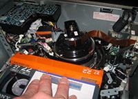 HDCAM-VTR テープ走行系点検